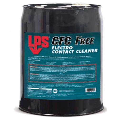 LPS CFC Free Electro Contact Cleaner - 18.93L Barrel - MIL-PRF-29608