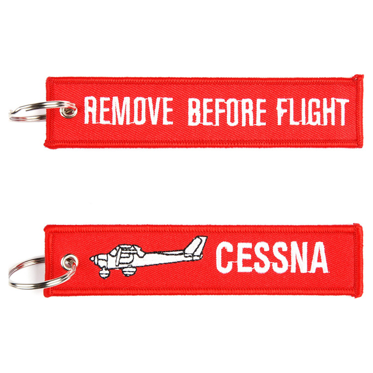Klíčenka REMOVE BEFORE FLIGHT - CESSNA