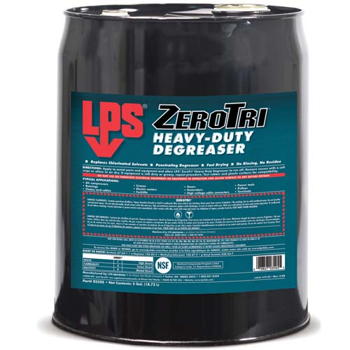 LPS Zerotri Degreaser 18.93 L Barrel