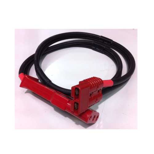 Red Box kabel 2 m x 50 mm s NATO 3 pin konektorem