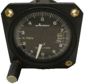Winter Altimeter S-Needle Mb 0-10K both 58 mm (Not Certified)