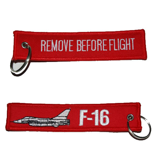 Klíčenka Remove Before Flight - F-16