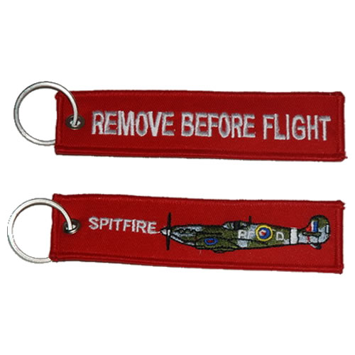 Klíčenka Remove Before Flight - SPITFIRE