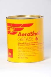 Aeroshell Grease 6 - 3kg Tin - MIL-PRF-24139A DEF STAN 91-12