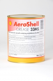 Aeroshell Grease 33MS - 3kg Tin - MIL-G-21164D DEF STAN 91-57
