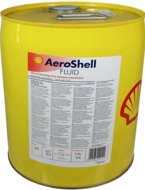 Aeroshell Fluid 2F - 5 US Gallon Barrel - MIL-C-6529C Type II