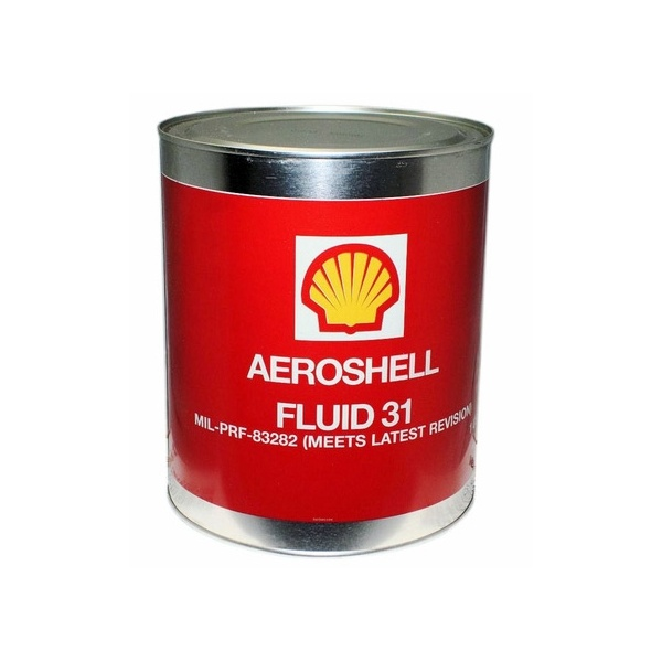 Aeroshell Fluid 31 - 1 US Gallon Can - MIL-PRF-8328D OX-19