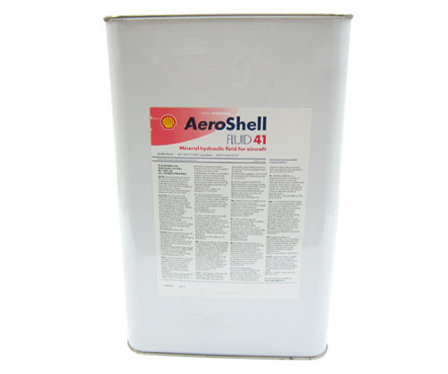 Aeroshell Fluid 41 - 5 US gallon  Barrel - MIL-PRF-5606H Superclean